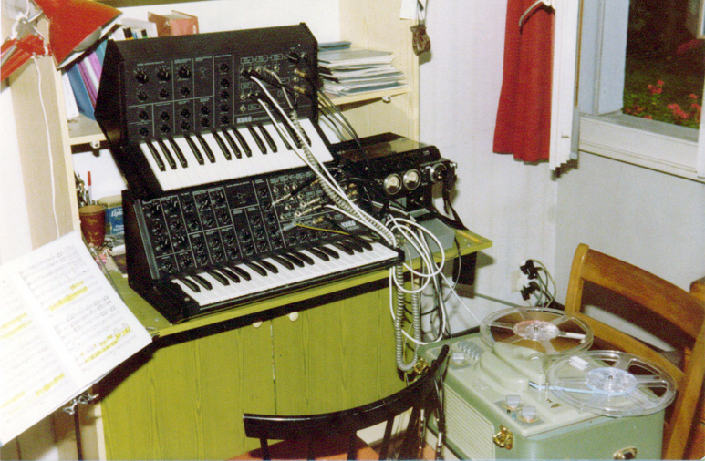 My first studio in 1979