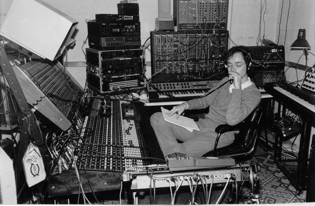 My Studio in 1986